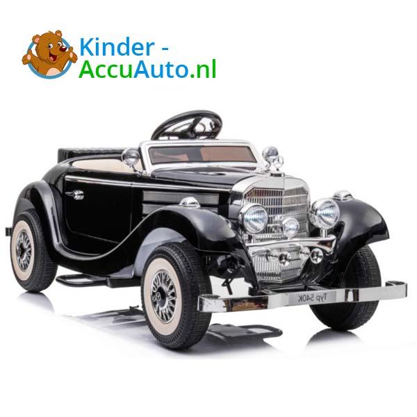 mercedes benz 540k elektrische kinderauto zwart 1