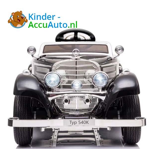 mercedes benz 540k elektrische kinderauto zwart 2