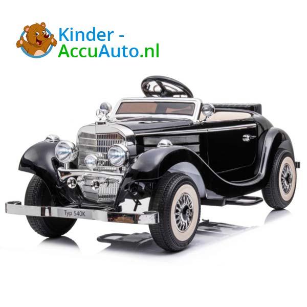 mercedes benz 540k elektrische kinderauto zwart 3