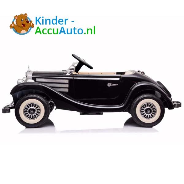 mercedes benz 540k elektrische kinderauto zwart 4