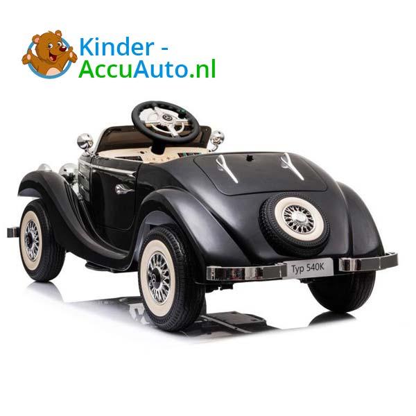 mercedes benz 540k elektrische kinderauto zwart 5