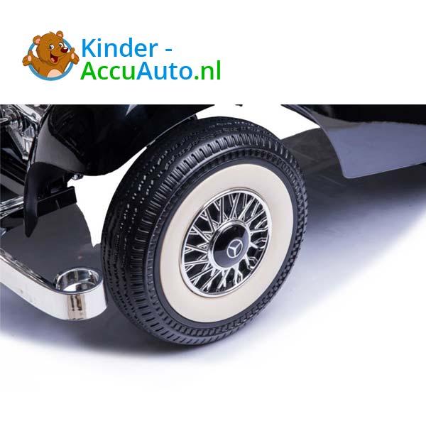 mercedes benz 540k elektrische kinderauto zwart 6