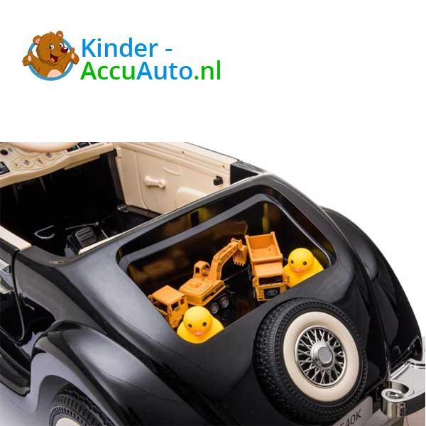 mercedes benz 540k elektrische kinderauto zwart 7