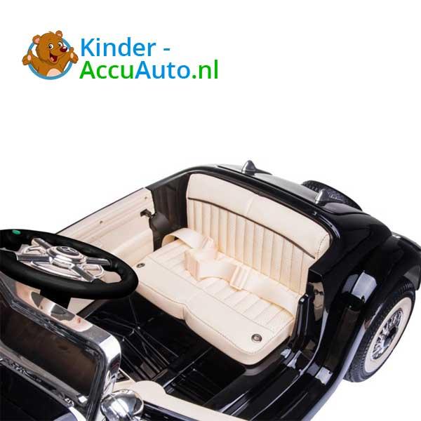 mercedes benz 540k elektrische kinderauto zwart 8
