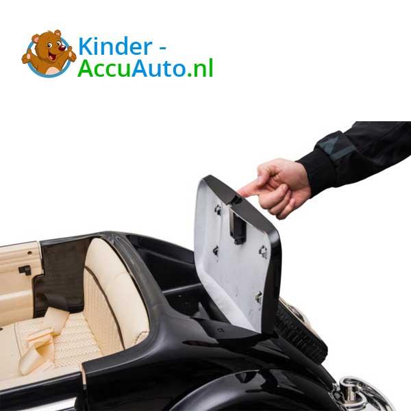 mercedes benz 540k elektrische kinderauto zwart 9