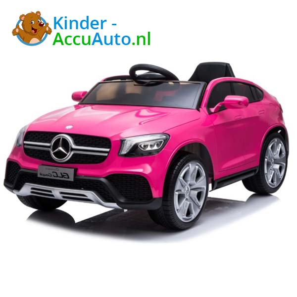 mercedes benz glc coupe elektrische kinderauto roze 2