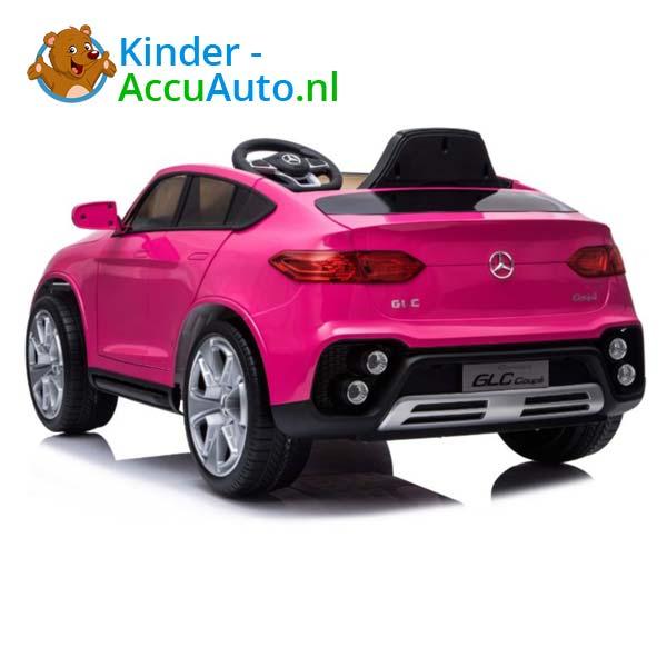 mercedes benz glc coupe elektrische kinderauto roze 3