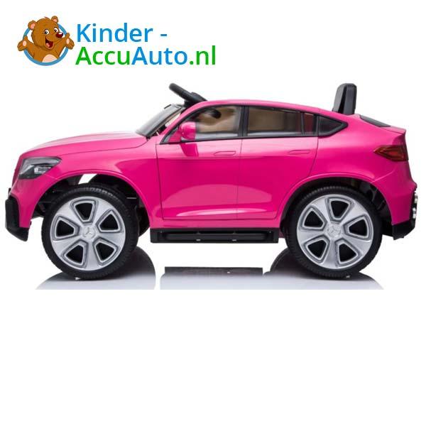 mercedes benz glc coupe elektrische kinderauto roze 5