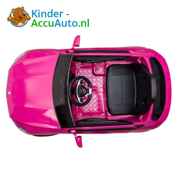 mercedes benz glc coupe elektrische kinderauto roze 6