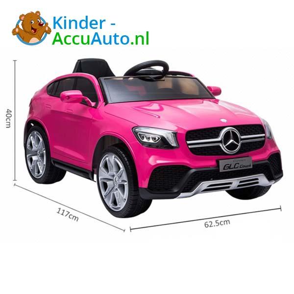 mercedes benz glc coupe elektrische kinderauto roze 7