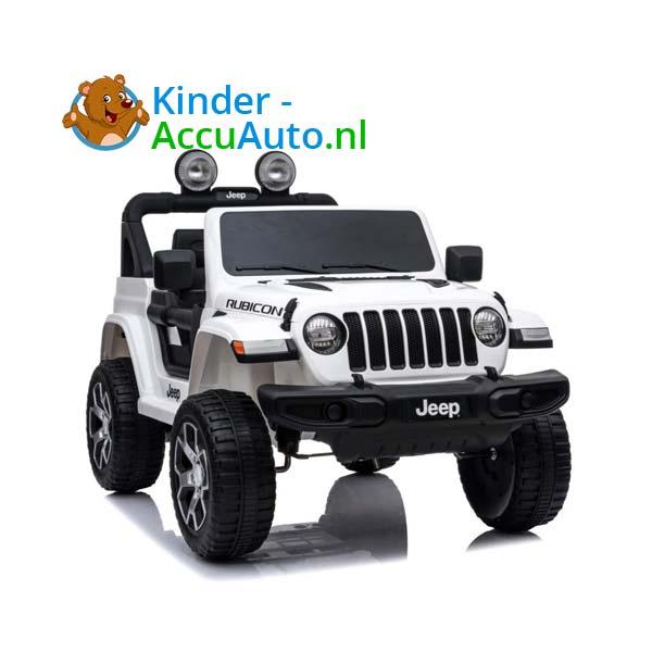 Jeep Wrangler Rubicon Wit Kinderauto 2