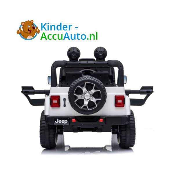 Jeep Wrangler Rubicon Wit Kinderauto 3