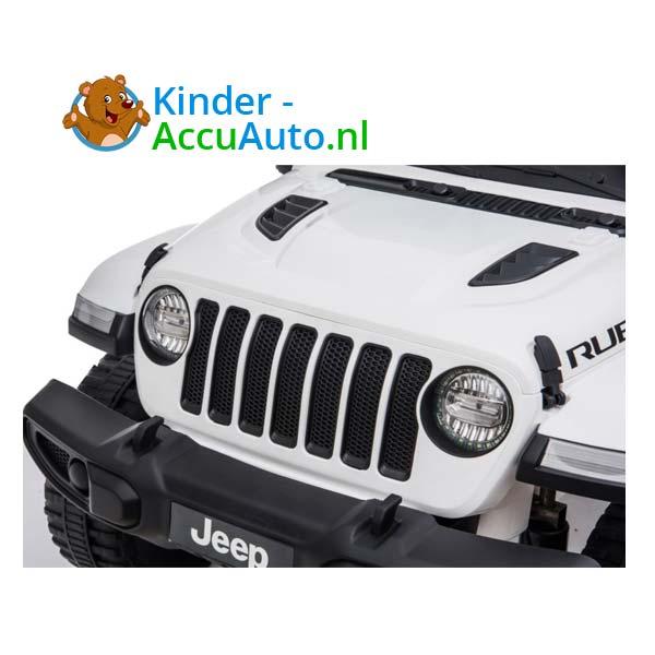 Jeep Wrangler Rubicon Wit Kinderauto 4