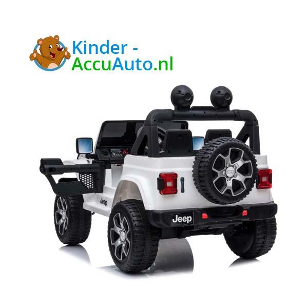 Jeep Wrangler Rubicon Wit Kinderauto 5