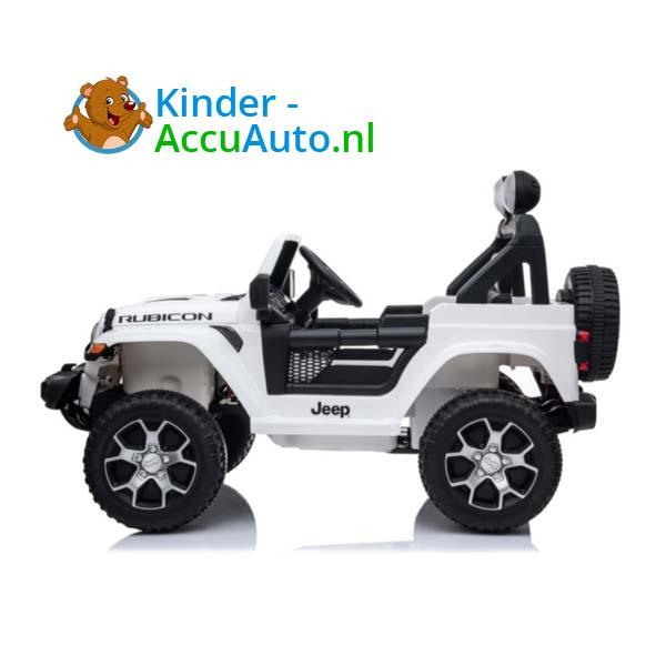 Jeep Wrangler Rubicon Wit Kinderauto 6