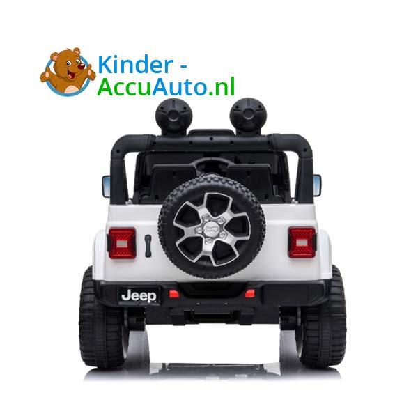 Jeep Wrangler Rubicon Wit Kinderauto 7