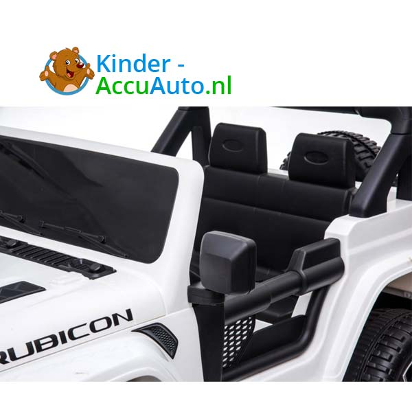 Jeep Wrangler Rubicon Wit Kinderauto 8