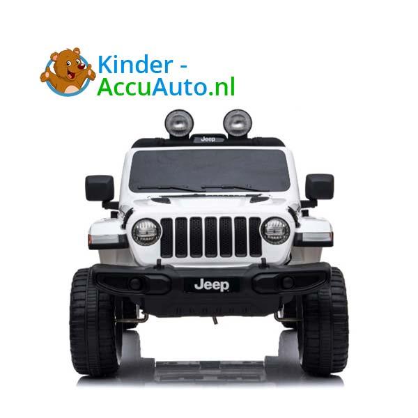 Jeep Wrangler Rubicon Wit Kinderauto 9